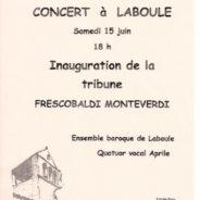Concert à Laboule, le 15 juin 2019 🗓