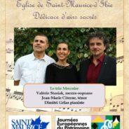 Concert à Saint-Maurice-d'Ibie, le 22 septembre 2019. 🗓