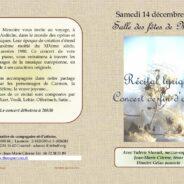 Concert de fin d'année à Meyras 🗓