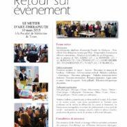 Forum métier du 10 mars à la Faculté de Médecine de Tours. 🗓